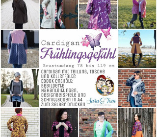 Cardigan Frühlingsgefühl by From heart to needle