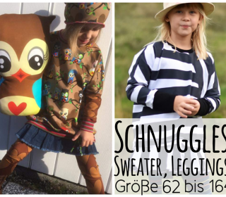 Schnugglesweater/Leggings/Baggy Kombi-Ebook by From heart to needle