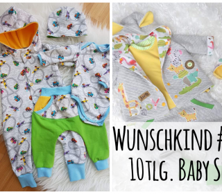 Wunschkind 10tlg. Komplett-Ausstattung by From heart to needle