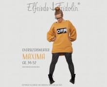 Oversizedsweater maxima mit angesagten Statementärmeln, Gr. 34-52