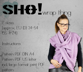 SHO!wrap thing  - a versatile top