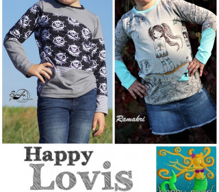 Ebook  - HAPPY LOVIS  Gr. 74 - 152  von Happy Pearl