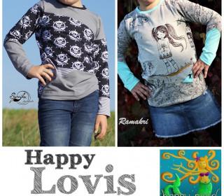 Ebook  - HAPPY LOVIS  Gr. 74 - 152  von Happy Pearl