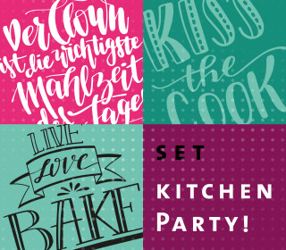 Plotterdatei-Set – Kitchen Party – Hamburger Liebe