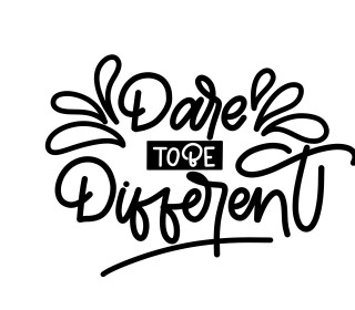 Plotterdatei - Dare to be different