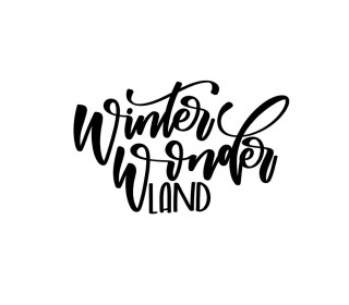 Plotterdatei - Winter Wonderland