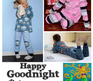 Ebook -  HAPPY GOODNIGHT Pyjama Gr. 74 - 152  von Happy Pearl