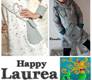 Ebook - Happy Laurea Longhoodie/Kleid Gr. 86 - 164  von Happy Pearl