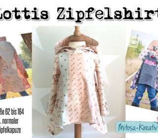 E-Book -  Lottis Zipfelshirt Gr 62 - 164