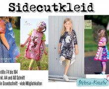 Ebook - Sidecut Kleid /Ballontunika Gr. 74 - 164 - MiToSa-Kreativ