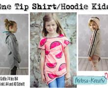 Ebook - One Tip Shirt / Hoodie Gr. 74 - 164 - MiToSa-Kreativ