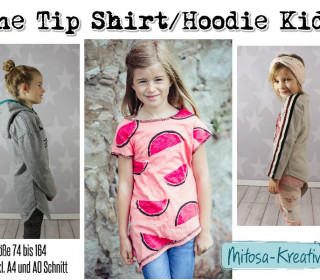 Ebook - One Tip Shirt / Hoodie Gr. 74 - 164 - MiToSa-Kreativ