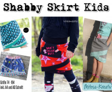 E-Book Shabby Skirt Kids Gr. 74 - 164