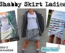 E-Book Shabby Skirt Ladies Gr. 34 - 52