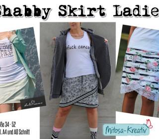 E-Book Shabby Skirt Ladies Gr. 34 - 52