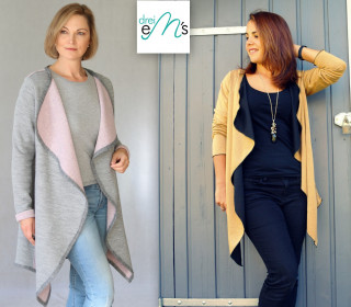 Ebook Cardigan SALEA XS-XXXL