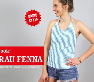 FRAU FENNA - Neckholdertop XXS-XL