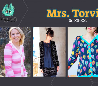 Ebook -  Mrs. Torvi Gr. XS - XXL - Cardigan für Damen