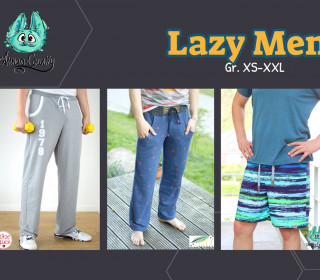 Ebook - Lazy Men - Gr. XS - XXL