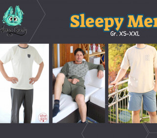 Ebook - Sleepy Men - Gr. XS - XXL