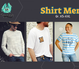 Ebook - Shirt Men - Gr. XS - XXL