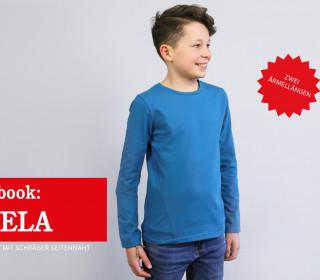 Ebook BELA - Shirt mit schräger Seitennaht in 2 Ärmellängen