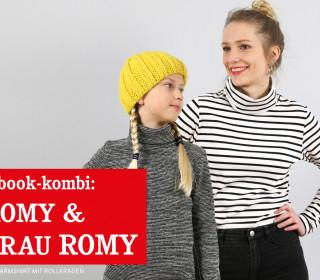 FRAU ROMY & ROMY - Rollkragenshirts im Partnerlook, eBook