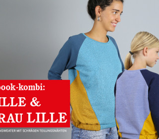 FRAU LILLE & LILLE • Raglansweater im Partnerlook,  eBook Kombi