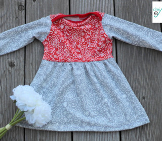 Newborn LOU  Kleid oder Tunika Gr. 50-92