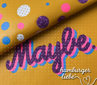 Plotterdatei – Maybe – Hamburger Liebe