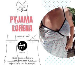 Pyjama Lorena Gr. 32-50