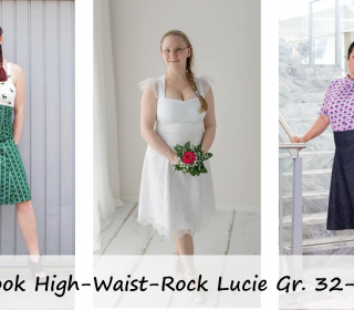 eBook High-Waist-Rock/Kleid Lucie Gr. 32-50