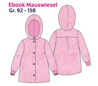 Ebook Mauswiesel - Mantel - Jacke - Gr. 92-158