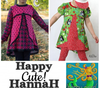 eBook  - HAPPY Cute! HannaH  Gr. 86 - 152  von Happy Pearl