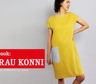 e-book FRAU KONNI - luftiges Kleid mit Taschen XS-XXL