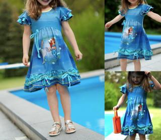 Principessa del giorno: Sommerkleid Mädchen ebook 92-158