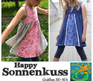 Ebook  - HAPPY SONNENKUSS  Gr. 86 - 164  von Happy Pearl