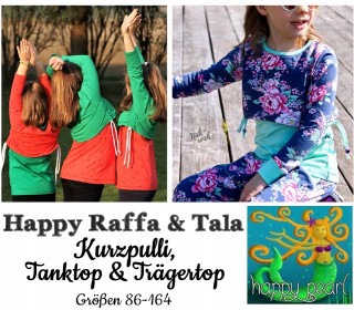 Ebook  - HAPPY RAFFA & TALA  Gr. 86 - 164  von Happy Pearl