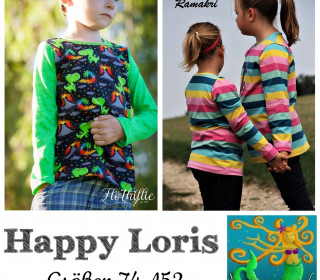 Ebook  - Happy LORIS - Gr 74-152 von Happy Pearl