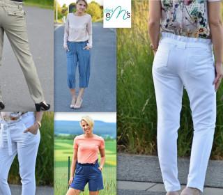 Ebook Hose ELIE  (lange Hose, Culotte, Shorts) Gr. 34-48