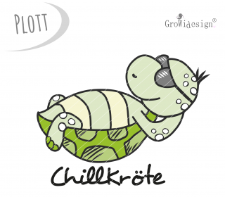 chillKRÖTE Plotterdatei by GroWidesign