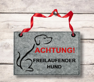 Stickdatei Türschild Hund, 13 cm x 18 cm,dog, embroidery, stick file, embroider, dor