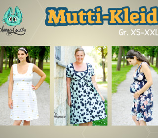 Ebook - Mutti-Kleid Gr. XS - XXL