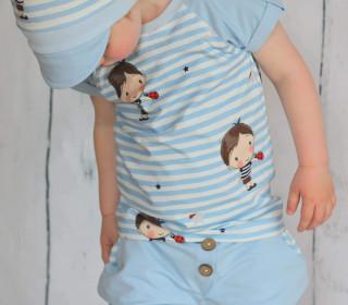 kurze Kinderhose Karli - Größen 104 bis 140