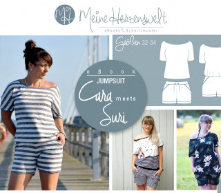 # 69 eBook - CARA&SURI - Jumpsuit/Shorts/Shirt - Größe 32-54