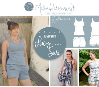 # 70 eBook - LUCY&SURI - Jumpsuit/Shorts/Top - Größe 32-54