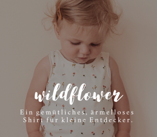 E-Book Baby Shirt Wildflower