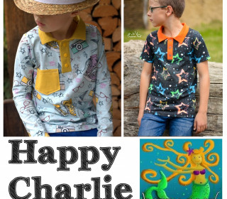 Ebook  - HAPPY CHARLIE  Poloshirt Gr. 74 - 164  von Happy Pearl