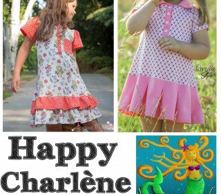 Ebook  - HAPPY CHARLÈNE  Polokleid Gr. 74 - 164  von Happy Pearl