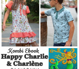 Kombi Ebook  - HAPPY CHARLIE + CHARLÈNE Gr. 74 - 164  von Happy Pearl